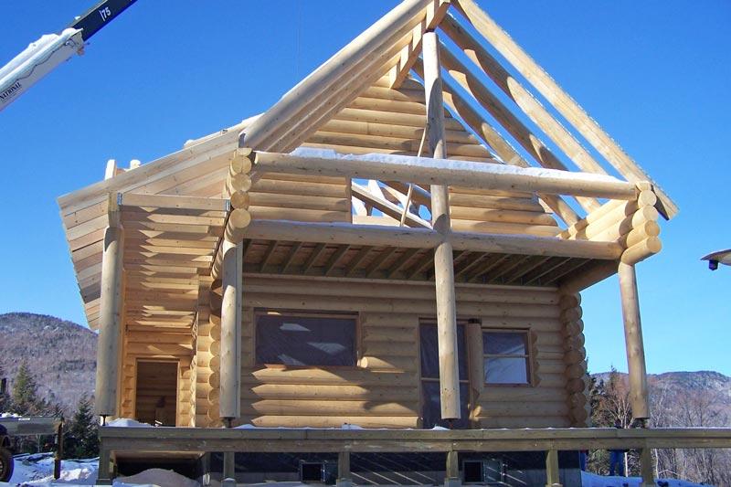 Settling Logs in Log Homes
